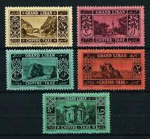Líbano (Francés) Nº Tasa-11/15 Cat.12,25€ - Grand Liban (1924-1945)