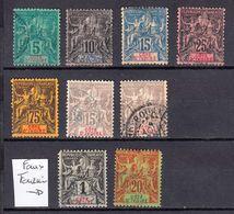 COTE D IVOIRE 1892 COTE 92€ + 2 FAUX FOURNIER  Colonies Françaises French Ivory Coast - Ivory Coast (1892-1944)