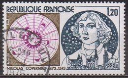 Astronomie  - FRANCE - Nicolas Copernic - N° 1818 - 1974 - France