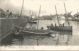 56 -  LORIENT - Pêcheurs à Quai - Animation - Lorient