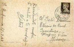 55980 Italia,postmark 1942 Sant'eufemia Della Fonte Brescia, Circuled Card , Thermal City, Localitè Thermale - Hydrotherapy