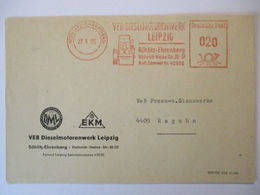 Autos, Technik, VEB Dieselmotor Fabrik Leipzig 1965  - Autos