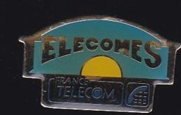 66030- Pin's- France-telecom.Orange.Telephone. - France Telecom