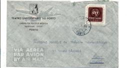 PORTUGAL SEUL SUR LETTRE POUR LA FRANCE 1966 - 1910-... República