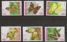 CAPE VERDE 1982 Butterflies - Butterflies