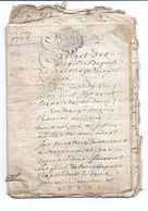 PROMO   Plusieurs Actes Notariés Un Du 31 Mars 1772  Bar Le Duc Meuse 26 Pages Au Total Dont 18 En Parchemin - Manuscritos