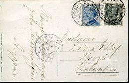 55986 Italia,postmark 1921 Salsomaggiore Terme Circuled Card , Thermal City, Localitè Thermale - Bäderwesen