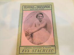 PORTUGAL PROGRAM - TEATRO DA TRINDADE - LISBOA 1929 - Programme