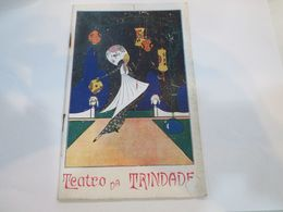PORTUGAL PROGRAM - TEATRO DA TRINDADE - LISBOA - Programme