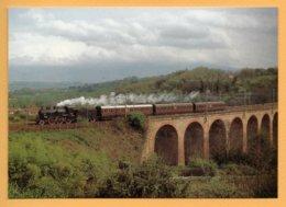 Bucine, 21 Aprile 2002 640.091 : Treno Viaggiatori Arezzo-S. Govanni Valdarno. - Trenes