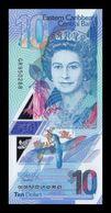 Caribe East Caribbean 10 Dollars Elizabeth II 2019 Pick New Polymer SC UNC - Oostelijke Caraïben