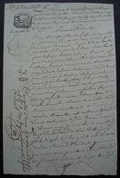 Tonneins 9 Nivôse An 12 Lot-et-Garonne Vente Héritiers Catherine Séré De Razimet Villeton à Pierre Collié Meunier - Manuscrits