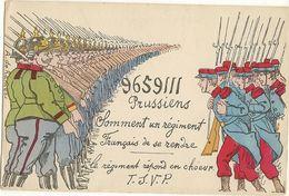 MILITARIA - Le Soldat Allemand Dit Nous Avons 9659111 Le Solldat FRANCAIS  Répond T.s.v.p   110 - Humoristiques