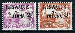 Wallis Y Futuna Nº Tasa-9/10(*) Cat.40€ - Postage Due