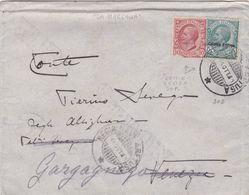 1911 - STORIA POSTALE Colonie ERITREA 1911 ?on Board? Ex Massaua To Gargagnago - Erythrée