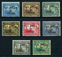 Wallis Y Futuna Nº Tasa-1/8 Nuevo* - Postage Due