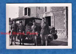 Photo Ancienne - Portrait D' Officier & Camion Militaire à Identifier - Voir Insigne - 309e ? 306e Régiment ? - WW2 ? - Krieg, Militär