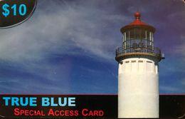 AUSTRALIE  -  Prepaid  -  TRUE BLUE  -  $ 10  (neuve, No Used) - Australia