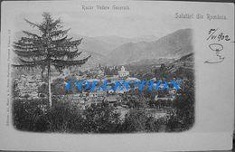 CAMPULUNG RUCAR 1902, Vedere Generala, Perfect Condition, Cu Timbru Rara - Roumanie