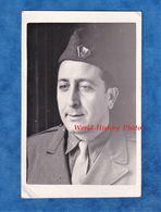 Photo Ancienne - Portrait D'un Militaire - Régiment / Division à Identifier - Voir Insigne Sur Calot - Uniforme - WW2 - Krieg, Militär