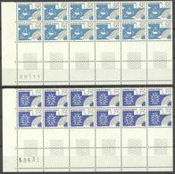 N° 198 Au 201 Série De Préo Neuf ** De 1988 Bloc De 12 (bord De Feuille) - 1964-1988