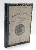 Giulio Verne - Avventure Del Capitano Hatteras Parte Prima E Seconda 1^ Ed. 1875 - Books, Magazines, Comics