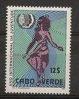 CAPE VERDE 1985 International Year Of Youth - Modern
