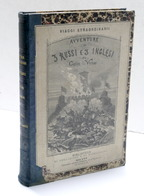 Verne - Avventure Di Tre Russi E Tre Inglesi / Città Galleggiante - 1^ Ed. 1875 - Libros, Revistas, Cómics