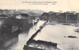 75 - PARIS 13 ° - INONDATIONS De PARIS ( Janvier 1910 ) Crue Seine : La Rue Du Loiret Inondé - CPA - De Overstroming Van 1910
