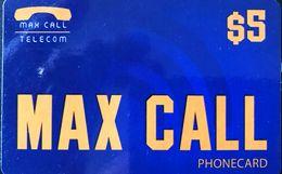 AUSTRALIE  -  Prepaid  -  MAX CALL  -  $ 5 - Australia