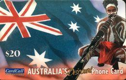 AUSTRALIE  -  Prepaid  -  Australia's Discount  -  $ 20 - Australia