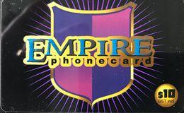 AUSTRALIE  -  Prepaid  - Empire Phonecard  -  $ 10 - Australia