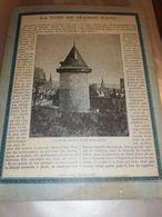 PROTEGE CAHIER ANCIEN NORMANDIE LA TOUR JEANNE D ARC ROUEN PHILIPPE AUGUSTE - Löschblätter, Heftumschläge