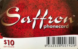 AUSTRALIE  -  Prepaid  - Saffron  -  $ 10 - Australia