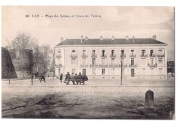 Dax - Place Des Salines Et Cours Du Theatre /P160/ - Dax
