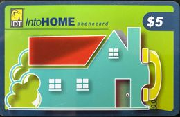AUSTRALIE  -  Prepaid  - IDT IntoHOME  -  $ 5 - Australia