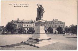 Dax - Place Thiers Et Statue De Borda /P160/ - Dax