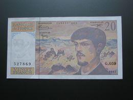 20 Vingt Francs - DEBUSSY - 1997  Alphabet G.059   **** EN ACHAT IMMÉDIAT  **** - 1962-1997 ''Francs''
