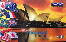 AUSTRALIE  -  Prepaid  - Australia's Discount Phone  -  $ 10 - Australia