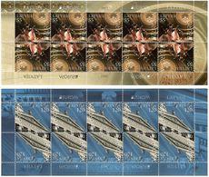 Latvia 2012 . EUROPA 2012 (Visit). 2 Sheetlets, Each Of 10. Michel # 829-30 KB - Lettonie