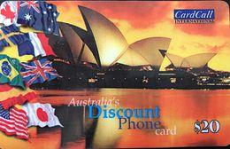 AUSTRALIE  -  Prepaid  - Australia's Discount Phone  -  $ 20 - Australia