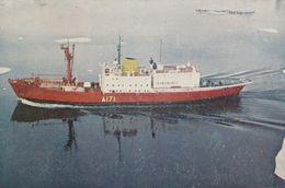 Postcard HMS Endurance Ice Patrol Ship Royal Navy Careers Service Card My Ref B24399 - Warships