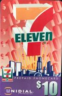 AUSTRALIE  -  Prepaid  - UNIDIAL   -  7 ELEVEN  -  $ 10 - Australia