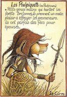 ~  JP  ~   Illustrateur  Nicolas   LE   CORRE     ~     Les Poulpiquets      ~ - Künstlerkarten