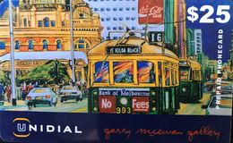 AUSTRALIE  -  Prepaid  - UNIDIAL Gallery  -  $ 25 - Australia