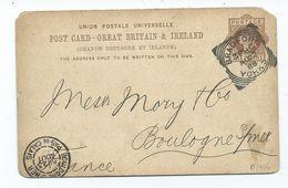 Great Britain  Squared Circle Bradford 3 Ph C 1988 On Prepaid  Postcard  Corner Missing - Briefe U. Dokumente