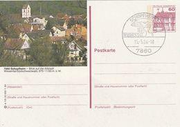 """Bundesrepublik Deutschland / 1983 / Bildpostkarte """"SCHOPFHEIM"""" Mit Bildgleichem Stempel (CB74) - [7] Federal Republic"""