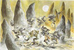 ~  JP  ~   Illustrateur  Pascal    MOGUEROU  ~  Mythes Et Légendes De BRETAGNE ~   La Lique Des KORRIGANS   ~ - Otros Ilustradores