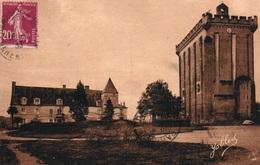 Pons (Charente-Inférieure) L'Hôtel De Ville Et Le Donjon - Phototypie Marcel Delboy - Carte Yobled N° 5 - Pons