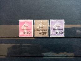 FRANCE.1930.N°266.267.268. Au Profit De La Caisse D'Amortissement .NEUFS+.Côte Yvert 150 € - Nuevos